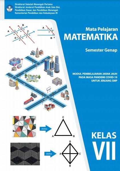 Modul Pjj Matematika Kelas 7 Semester Genap Direktorat Smp